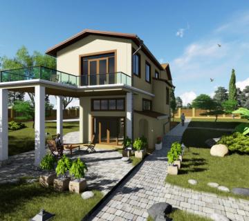 Проект реконструкции дачного дома в Симферопольском районе