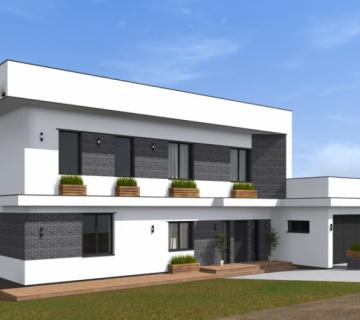 Проект жилого дома на 260 м.кв в Симферопольском районе
