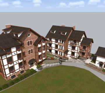 Проект жилых домов в г. Симферополь