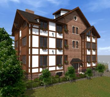 Проект жилого дома в г. Симферополь