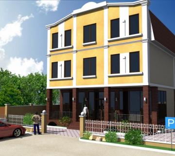 Эскиз офисного здания, Симферополь