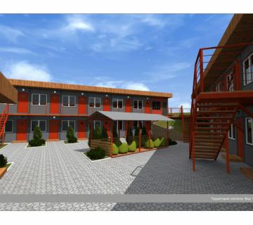 Проект Хостела в г. Симферополе