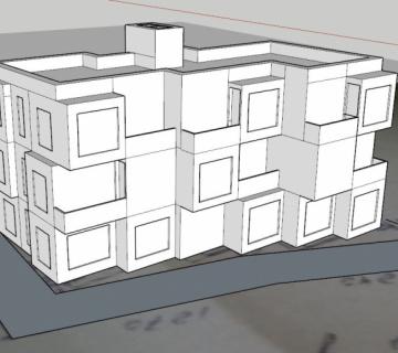 Новый эскиз будущего дома, посмотрим что получится