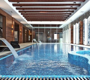 Дизайн бассейна в загородном доме