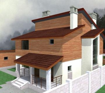 Эскизный проект частного дома в с.Заречное
